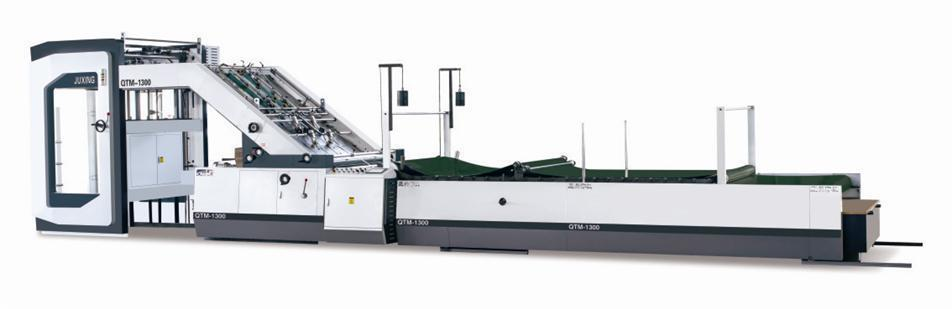 JUXING QTM1300/1450/1650 High Speed Automatic Flute Laminator