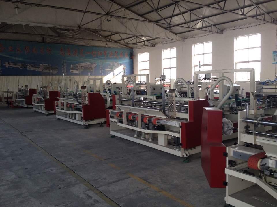 KINGVIDA JHX Serisi Otomatik Oluklu Kutu Yapıştırma Makinası (Tek Nokta)