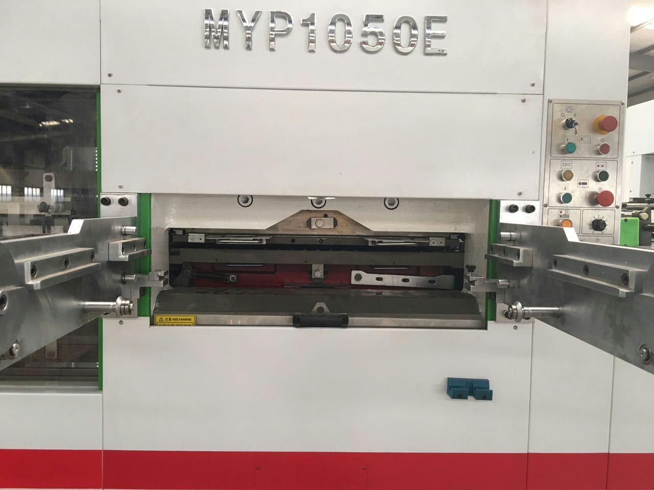 Kingvida MYP1050E Tam Otomatik, Ayıklamalı Oluklu Kesim Makinası