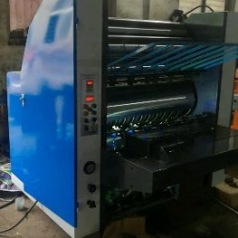auto cardboard pasting machinee