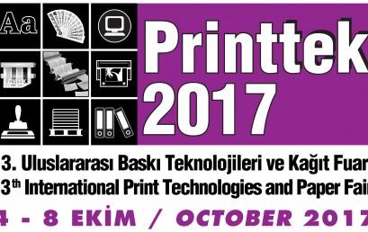 İŞCAN MAKİNA PRINTTEK 2017 FUARINDAYDI!