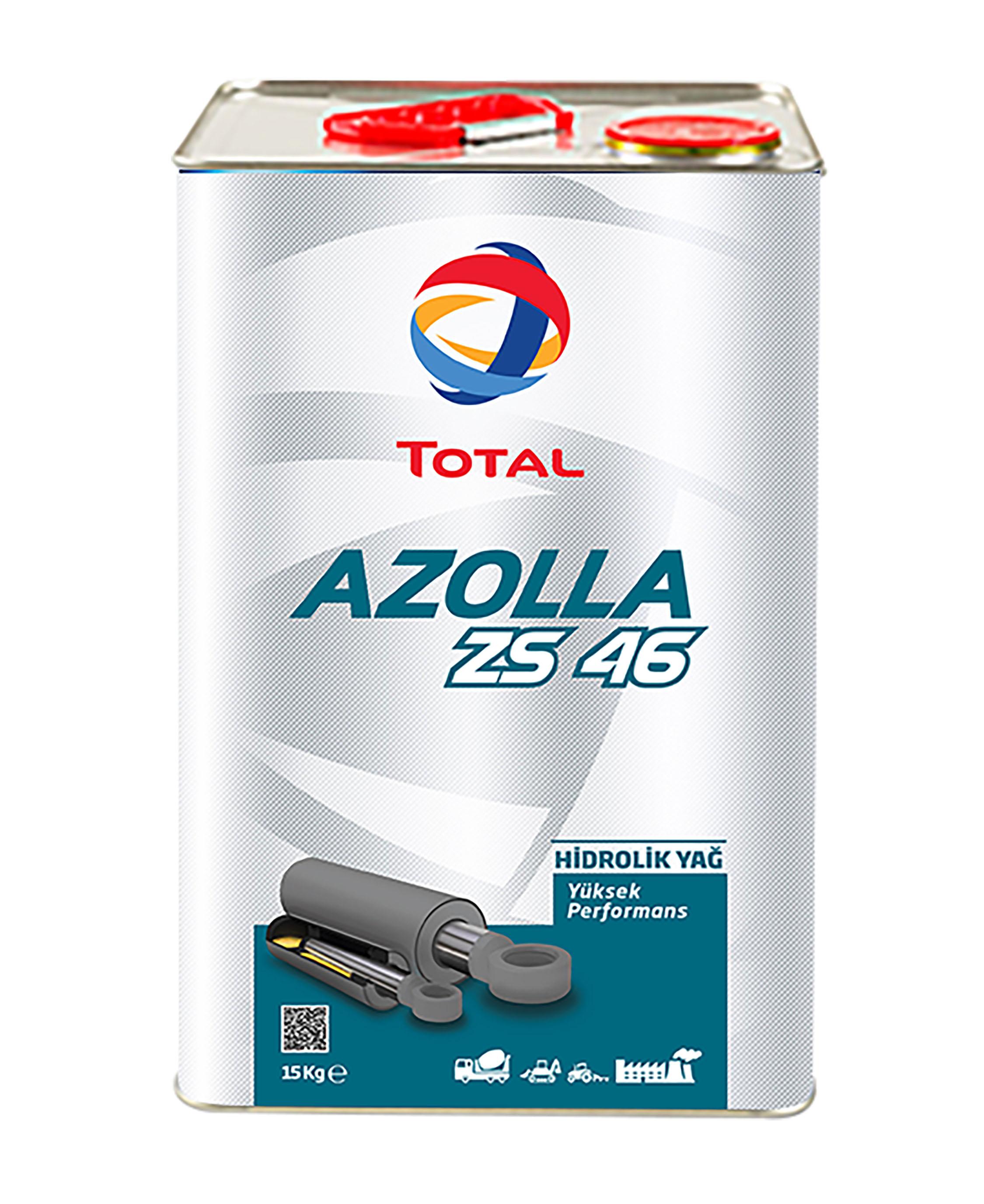 TOTAL AZOLLA HYDRAULIC OILS