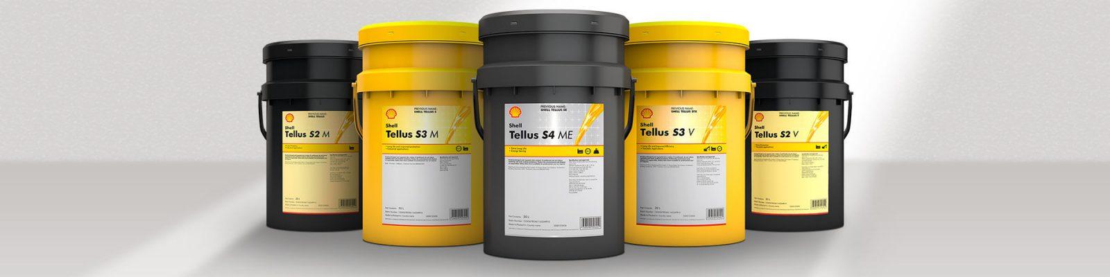 SHELL TELLUS HYDRAULIC OILS